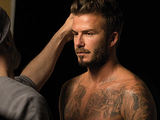 David Beckham Has a New Fragrance - and Poses Shirtless to Celebrate