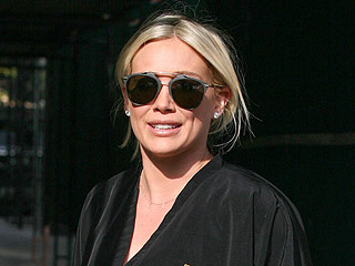 Is Hilary Duff Trying to Tell Us Something by Dyeing Her Hair Lilac Again?