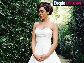 Jamie-Lynn Sigler's Dog Almost Peed on Her Wedding Dress (and More Exclusive Scoop on Her Big Day!)