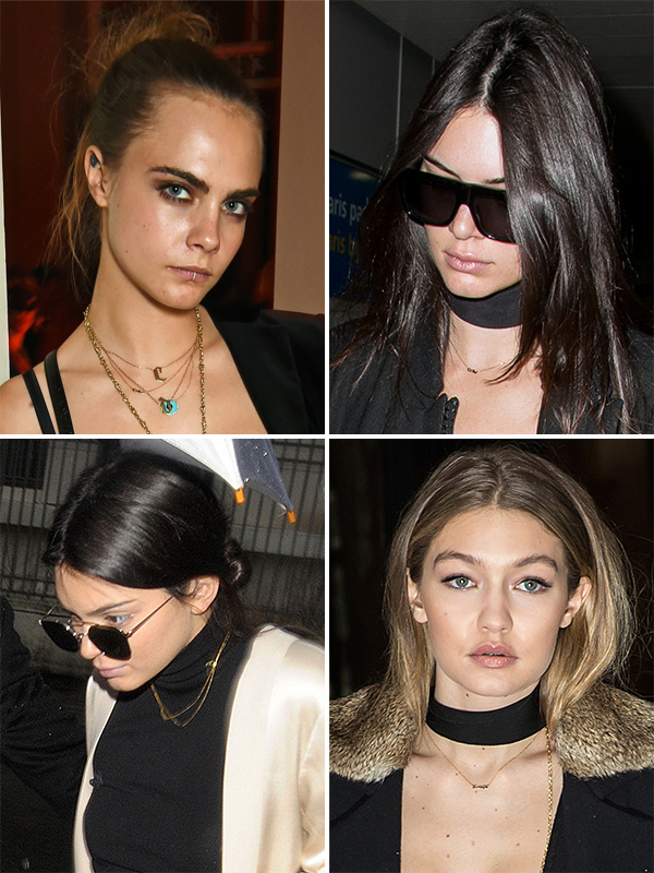 Kendall Jenner friendship necklaces