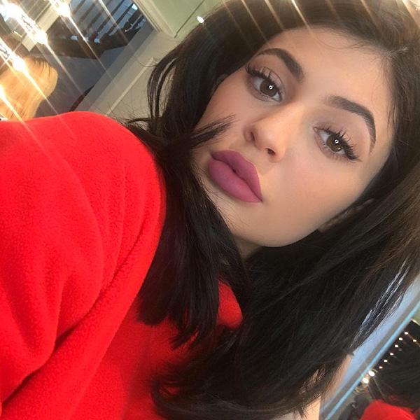 Kylie Jenner pink lip kit