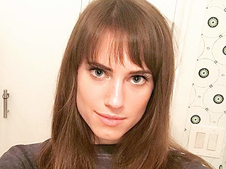 Allison Williams' Bangs Are the Most Un-Marnie