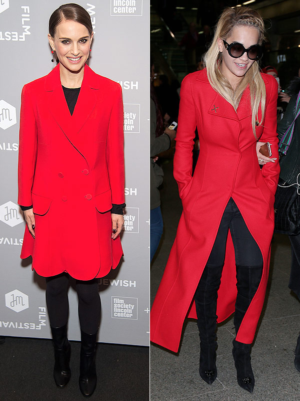 red jackets