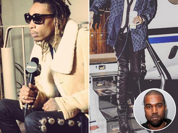Kanye West Wiz Khalifa feud