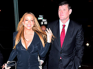 Mariah Carey Jokes About Her 35-Carat Diamond Engagement Ring: 'It's So Heavy, I Can't Lift My Arm!'
