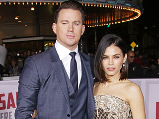 Jenna Dewan-Tatum Steals the Spotlight from Channing at His Premiere