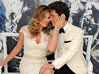 Daisy Fuentes and Richard Marx Have a Second Wedding: The Details on Her Lace Dress, Jewels and More!