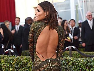 Better from the Back? You Have to See Eva Longoria's Super-Sexy Dress from Every Angle