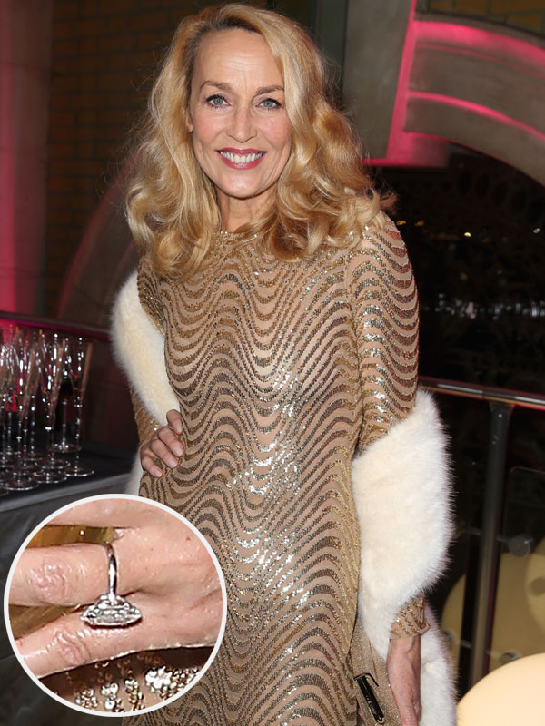 Jerry Hall Engagement Ring
