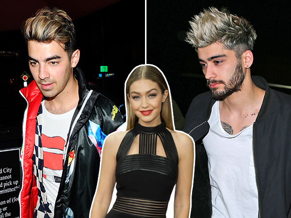 Joe Jonas dyes hair blond, Looks like Zayn