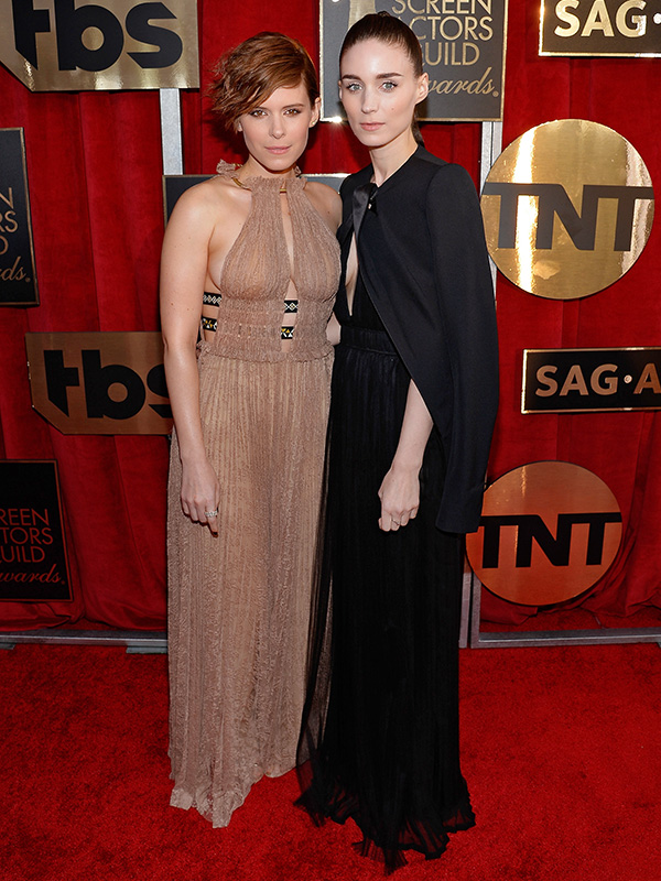 Kate and Rooney Mara