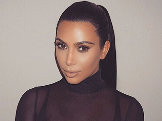 DeKoding Kardashian Style: The Scoop on That Sheer Turtleneck Kim Wears in Every Other Insta Pic
