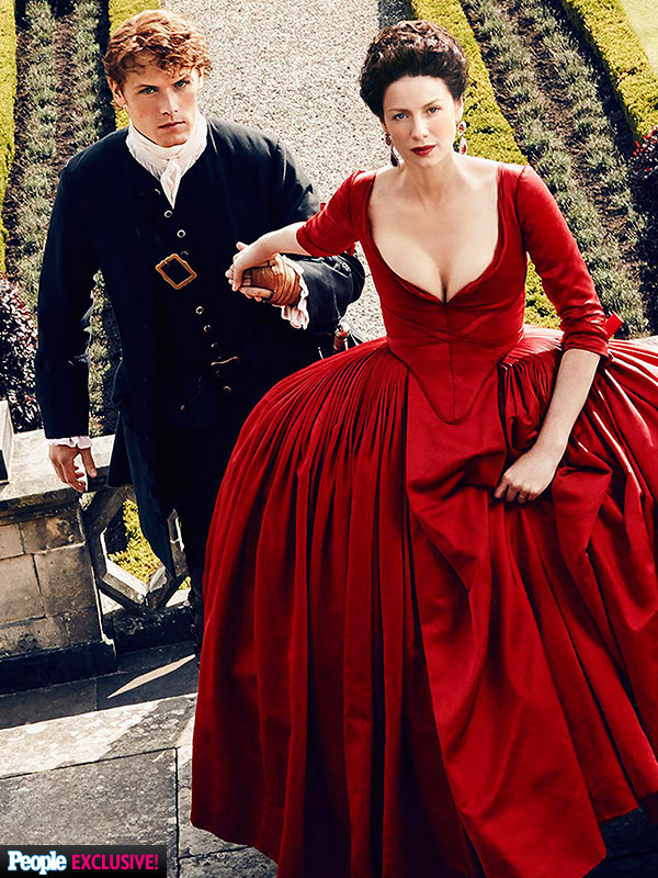 Outlander Red Dress exclusive
