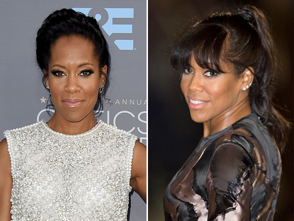 Regina King's new haircut bangs