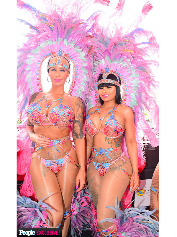 Blac Chyna and Amber Rose Carnival