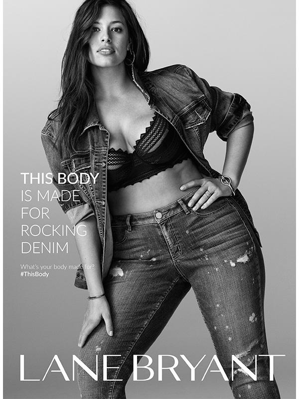 Ashley Graham Lane Bryant Campaign Sports Illustrated Swimsuit Rookie 2016