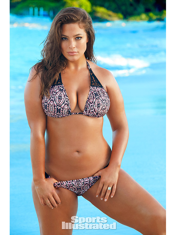 Ashley Graham Sports Illustrated Swimsuit Rookie 2016