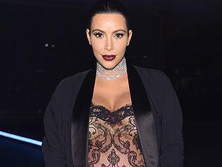 Kim Kardashian Gets Some Body Goals Motivation Courtesy of Balmain
