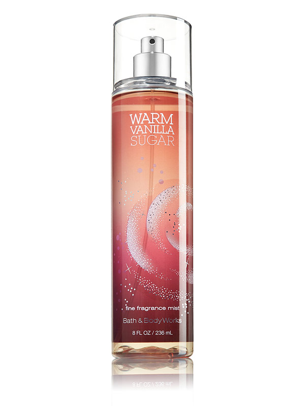 Warm Vanilla Sugar Bath and Body Works