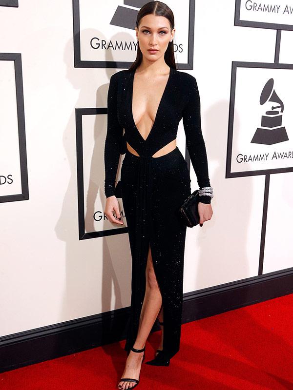 Bella Hadid Grammys 2016