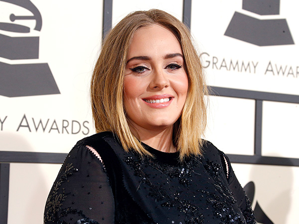 Adele talks about her beard
