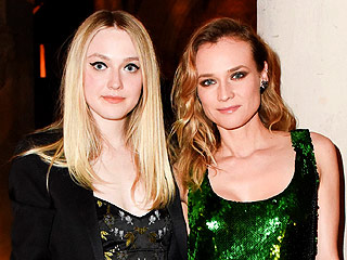 Dakota Fanning and Diane Kruger Make a Dynamic Fashion Duo at Repossi Event
