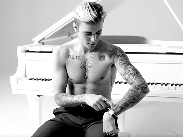 Justin Bieber GQ Cover Story Tattoos