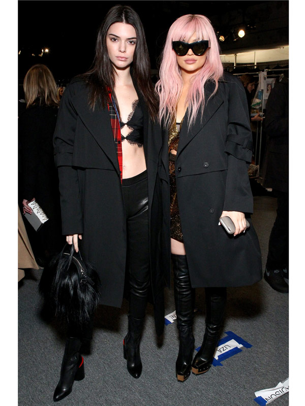 Kendall and Kylie Jenner Vera Wang