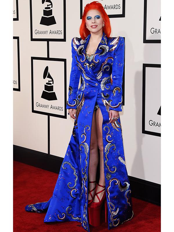 Lady Gaga Grammys 2016 David Bowie