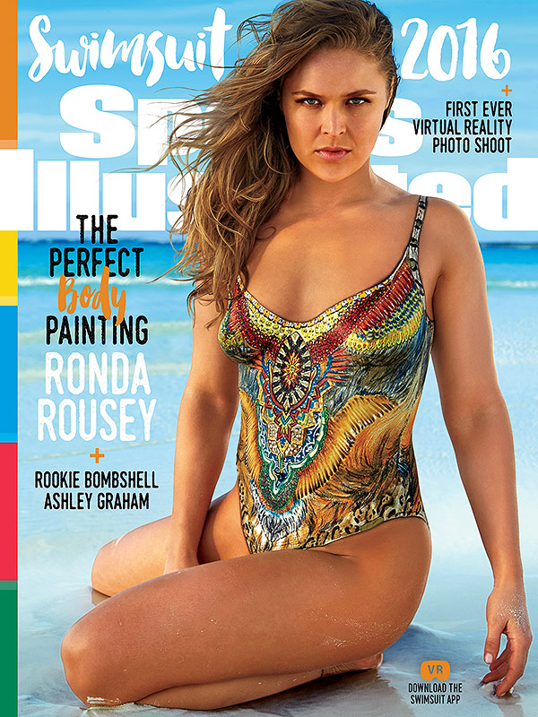 Ronda Rousey Sports Illustrated Swimsuit Edition 2016