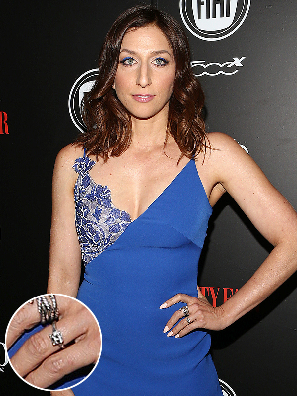 Chelsea Peretti engagement ring