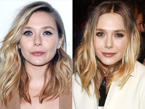 Elizabeth Olsen blonde hair