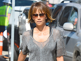 Is Halle Berry Heading for a Pixie Cut? Her Taylor Swift-Esque Bob Makes Us Think Yes