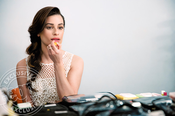 Exclusive Lea Michele photos for Burt's Bees