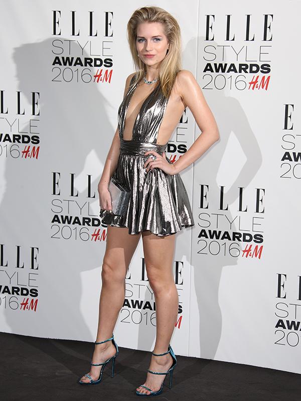 Lottie Moss Kate Moss Elle Style Awards 2016