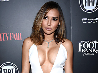 Naya Rivera Wears Cleavage-Baring Dress (Then Thanks Son for 'Lopsided Boobs')