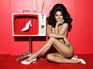 Pamela Anderson Models New Shoe Line Completely Naked