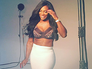 Serena Williams Makes Sports Bras High-Style in Skin-Baring Photoshoot