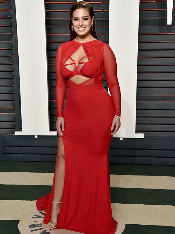 Ashley Graham dress
