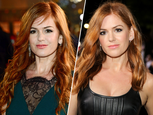 Isla Fisher haircut