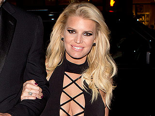 Jessica Simpson Wears Another Super Sexy LBD for a Pre-Oscars Date Night with Husband Eric Johnson