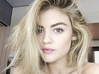 Aria Who? Lucy Hale Is Almost Unrecognizable with Her New Platinum Blonde Hair!