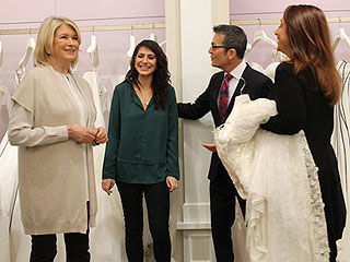 Martha Stewart Dishes Out Wedding Dress Advice on Say Yes to the Dress