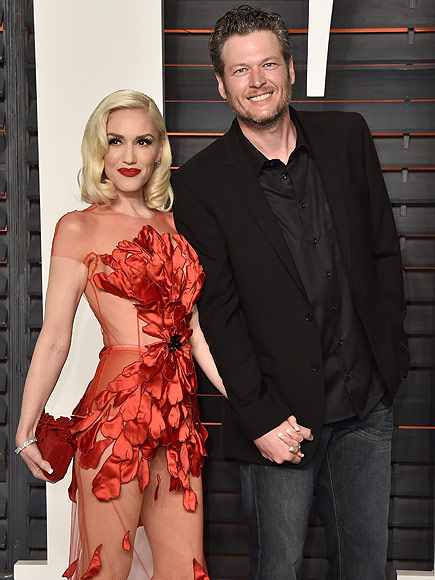 Inside Gwen Stefani and Blake Shelton's PDA-Filled Oscar Weekend: 'They Were Like Giddy Teenagers at a High School Dance,' Says Source| Couples, Academy Awards, Oscars 2016, Blake Shelton, Gwen Stefani
