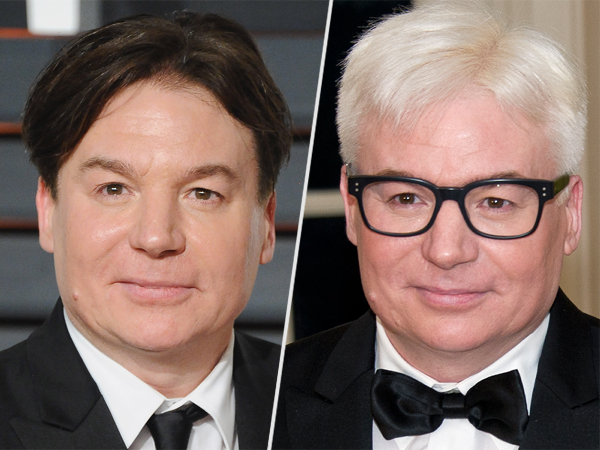Mike Myers silver fox