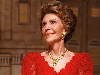 Polished and Glamorous: Late Style Icon Nancy Reagan's Most Memorable Looks