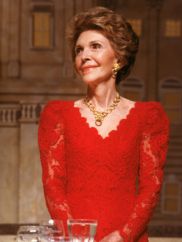 Former First Lady Nancy Reagan to Be Buried in Signature Red Ensemble| Death, Nancy Reagan, Ronald Reagan