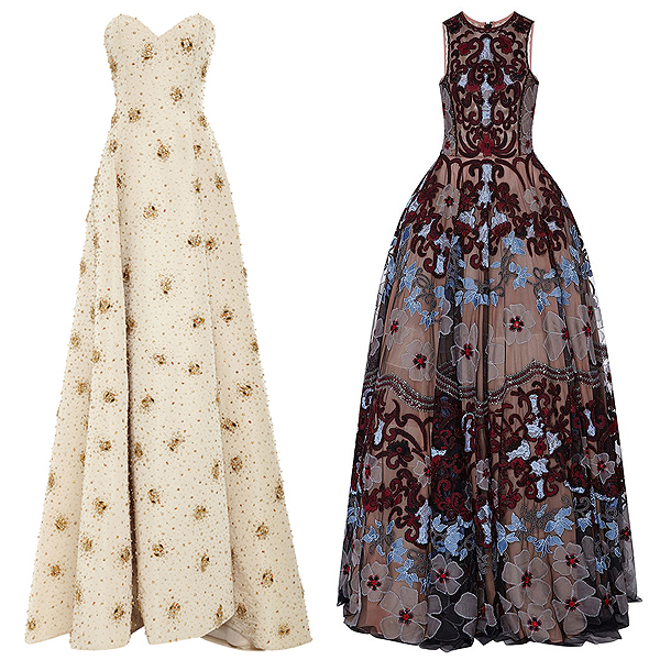 Obama girls gowns