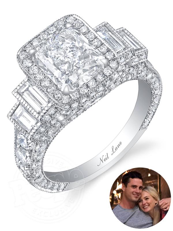 Ben and Lauren Neil Lane Engagement ring