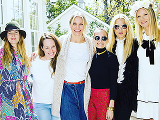 Gwyneth Paltrow Celebrates Goop Skincare with BFFs Reese Witherspoon, Cameron Diaz and More (PHOTOS)